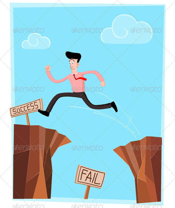 Crossing the Cliff - Concepts Business