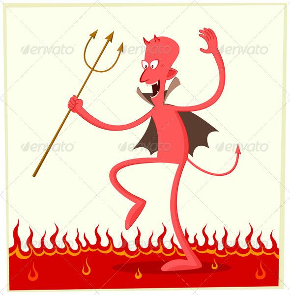 Dancing Satan - Monsters Characters