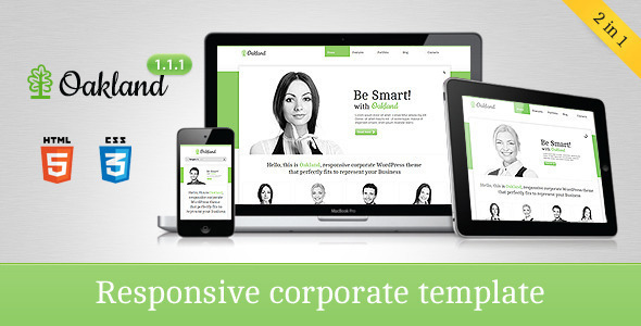 Oakland – Responsive Corporate HTML5 Template