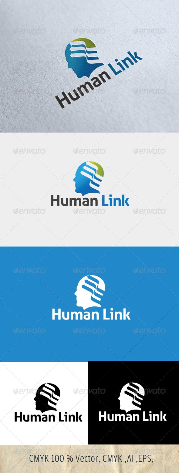 Human Link Logo Template - Humans Logo Templates