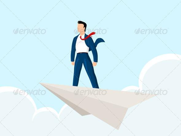 Paper Plane - Concepts Business