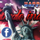 4th of July Independence Day Facebook Cover - GraphicRiver Item for Sale