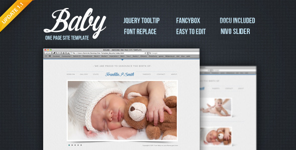 Baby - Site Template - Creative Site Templates
