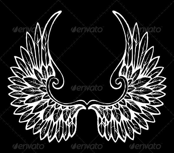 Wings - Miscellaneous Vectors