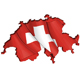 Swiss Map-Flag - GraphicRiver Item for Sale