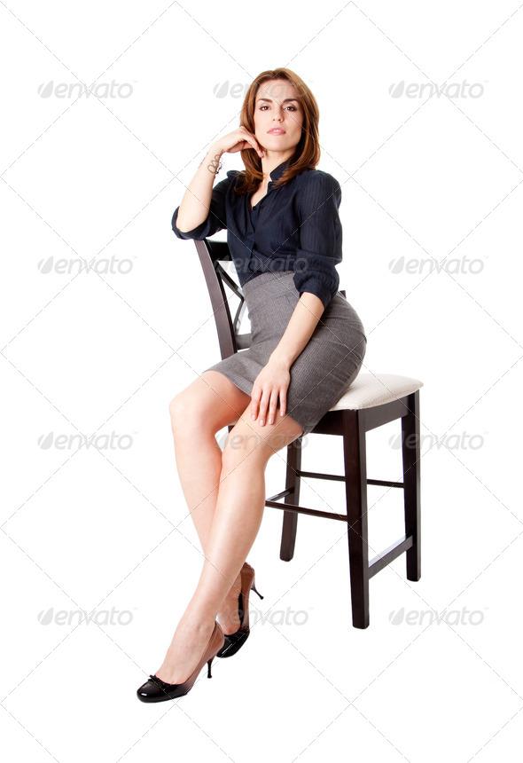 Beautiful business woman - Stock Photo - Images