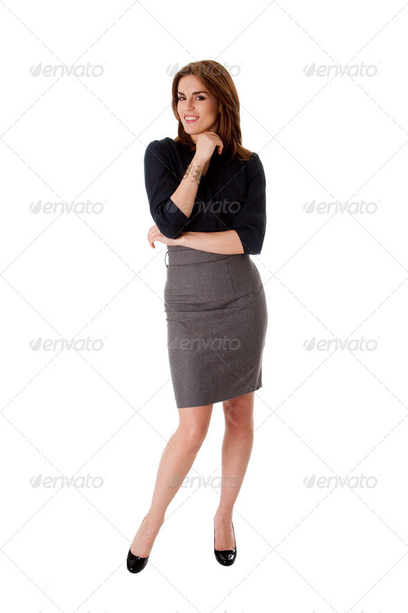 Beautiful business woman - Stock Photo - Images