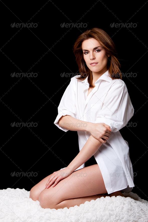 Sexy beautiful female - Stock Photo - Images