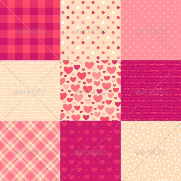 Love Letters - Patterns Decorative