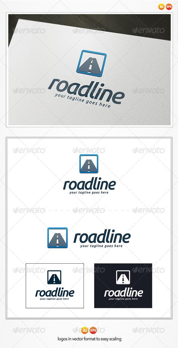 Road Line Logo Template - Symbols Logo Templates