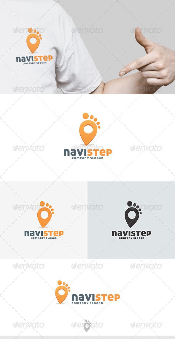 Navi Step Logo - Vector Abstract
