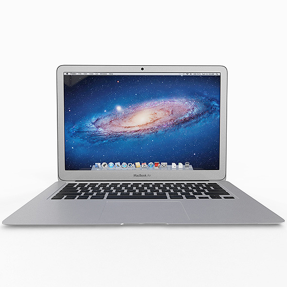 Apple Macbook Air 11 inch - 3DOcean Item for Sale