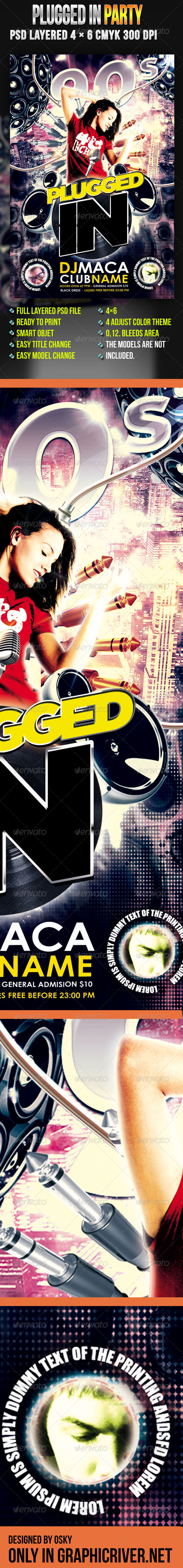 Plugged In Party - Clubs & Parties Events