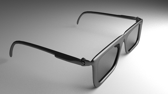 Eye Glasses Version 1 (High-Poly) - 3DOcean Item for Sale