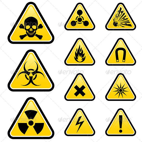 Signs of Danger - Miscellaneous Vectors