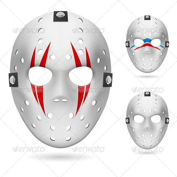 Hockey mask - Miscellaneous Vectors