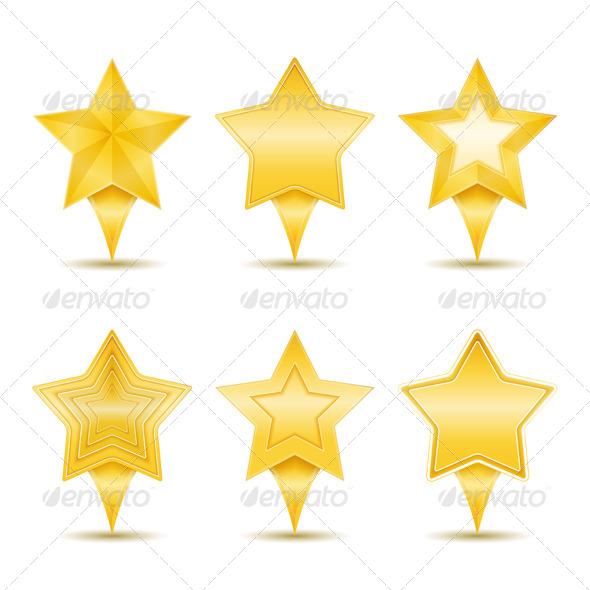 Stars - Miscellaneous Vectors