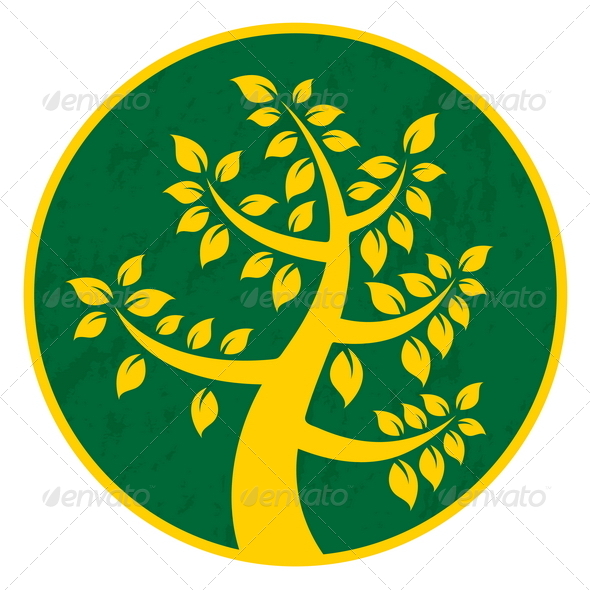Iconic Tree - Decorative Symbols Decorative