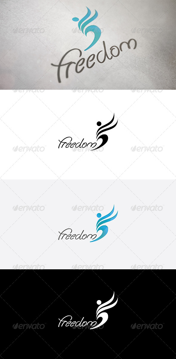 Freedom - Humans Logo Templates