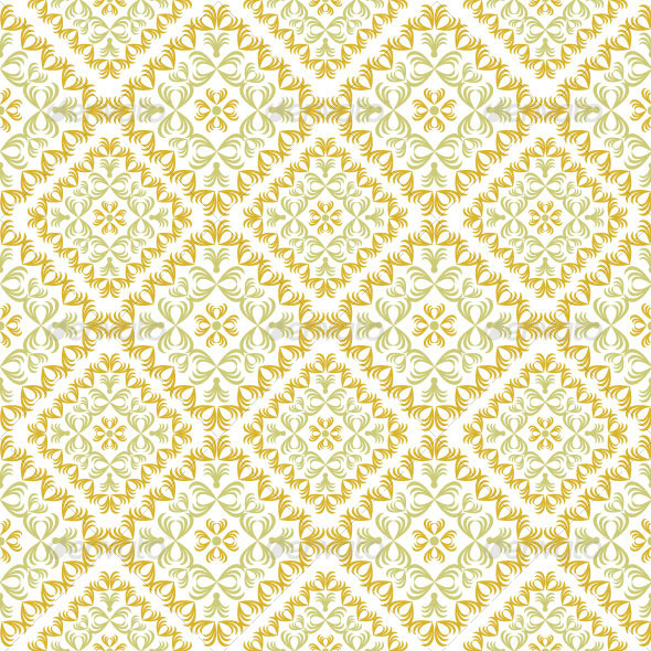Seamless Classic Pattern 38 - Patterns Decorative