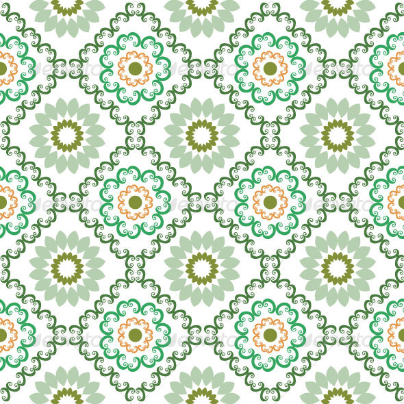 Seamless Classic Pattern 39 - Patterns Decorative