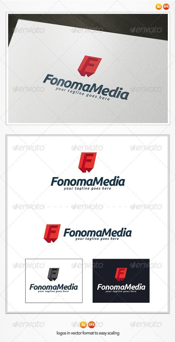 Fonoma Media Logo - Letters Logo Templates