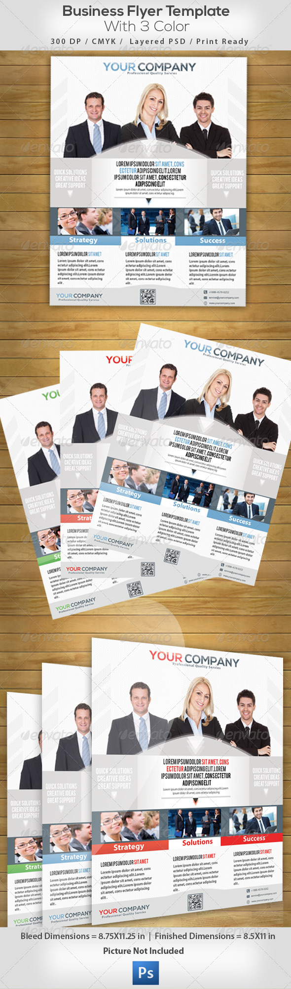 Business Flyer  - Commerce Flyers