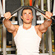 Sporty Man Exercising At The Gym Center - VideoHive Item for Sale