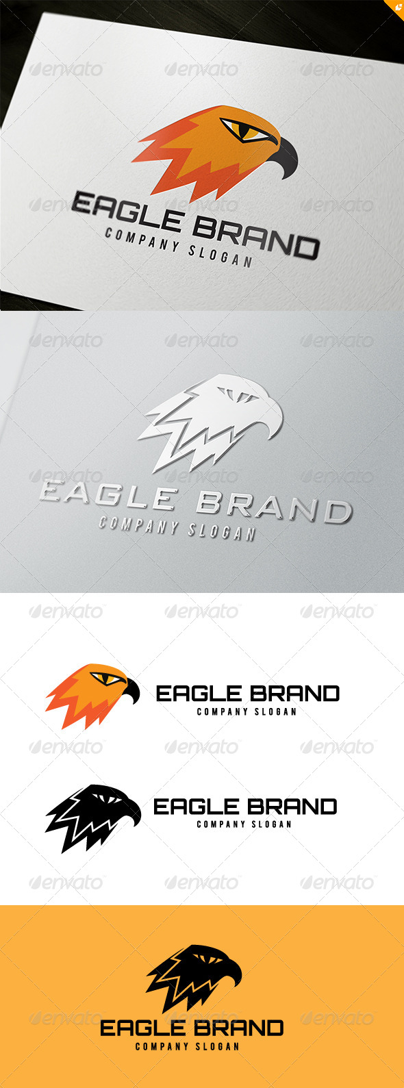 Eagle Brand Logo - Animals Logo Templates