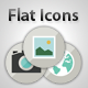 24 Flat Vector Icons Set - GraphicRiver Item for Sale
