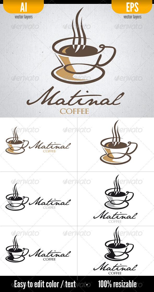 Matinal Coffee - Food Logo Templates