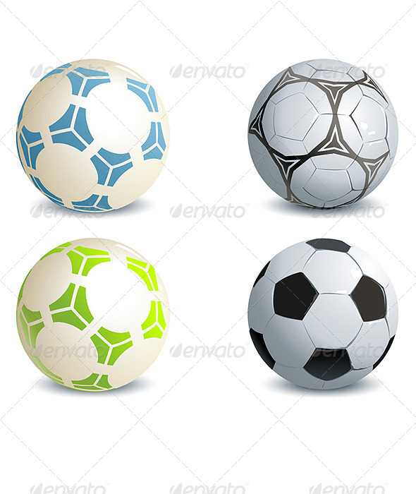 Soccer Balls - Sports/Activity Conceptual