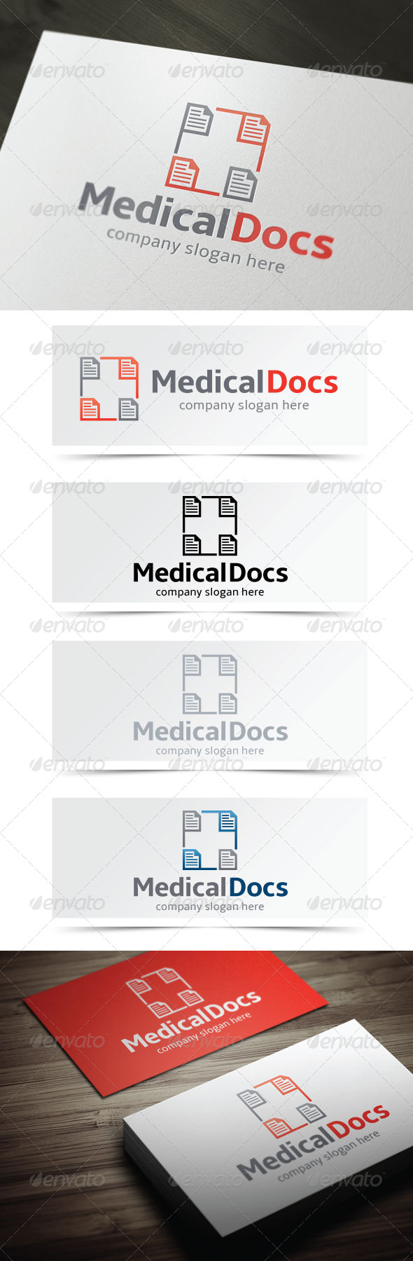 Medical Docs - Symbols Logo Templates