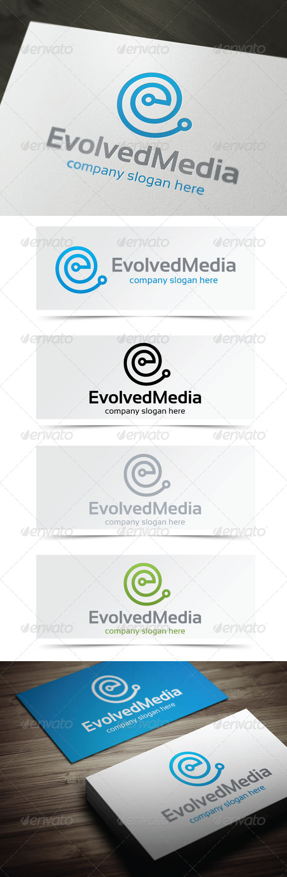 Evolved Media - Letters Logo Templates