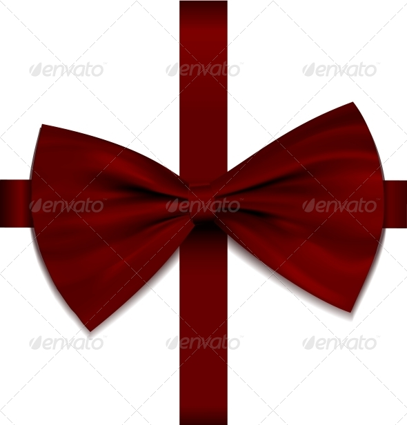 Bow on Ribbon - Decorative Symbols Decorative