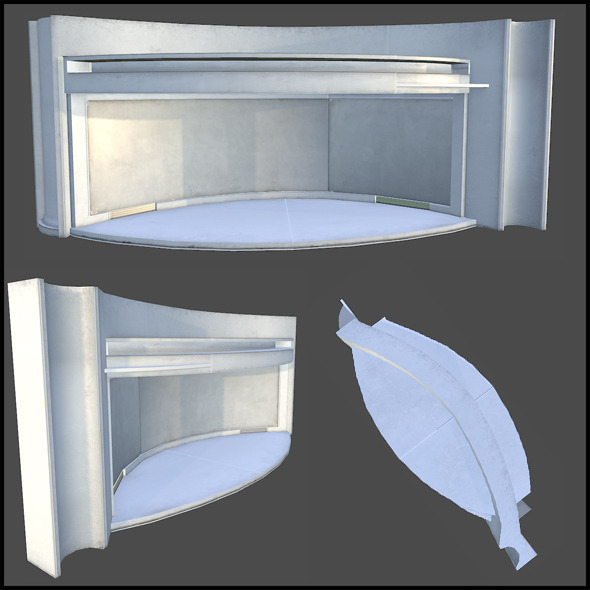 Stairwell Hub - 3DOcean Item for Sale