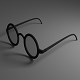 Eye Glasses Version 2 (Low-Poly) - 3DOcean Item for Sale