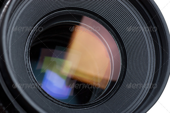Lens - Stock Photo - Images