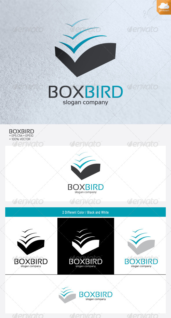 BoxBird - Abstract Logo Templates