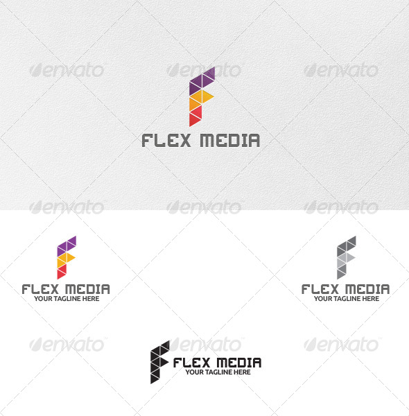 Letter F - Logo Template - Letters Logo Templates