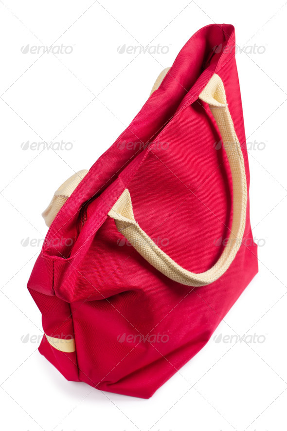Red bag - Stock Photo - Images