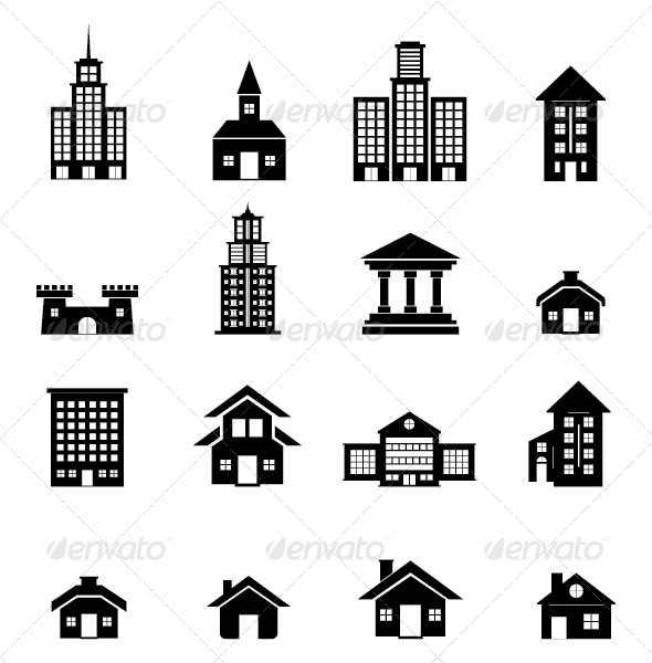 Building Vector - Buildings Objects