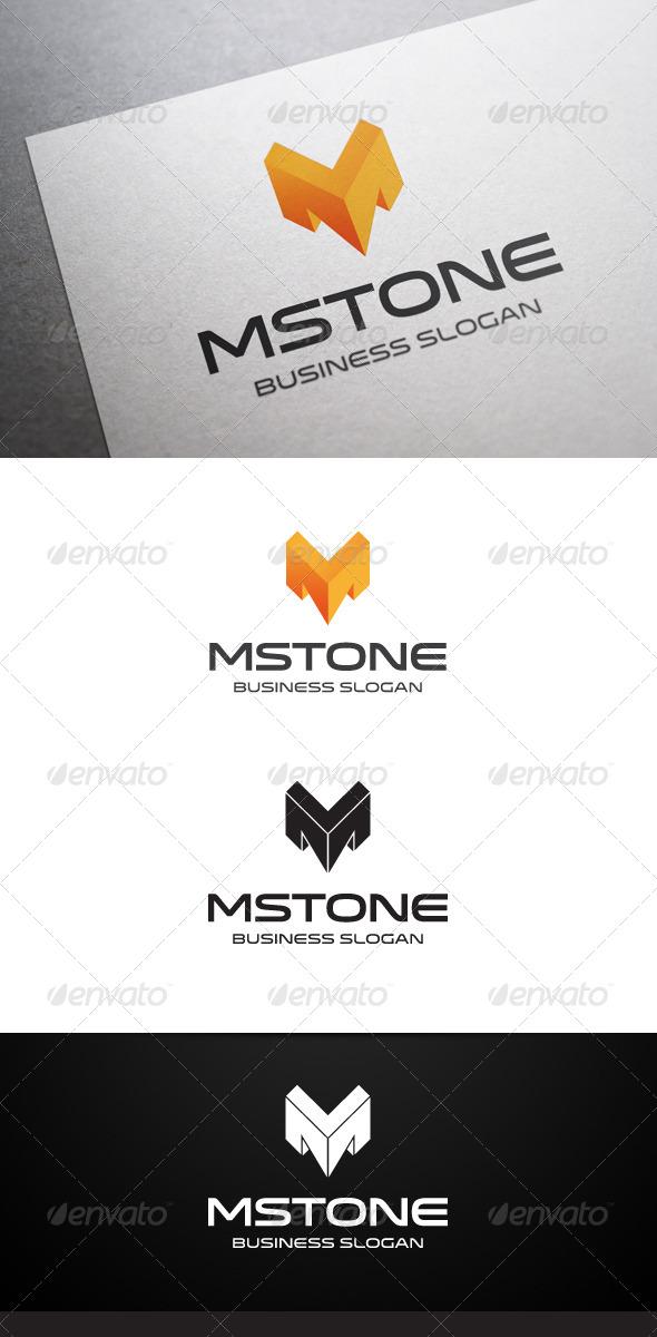 Mstone M Letter Logo - Letters Logo Templates