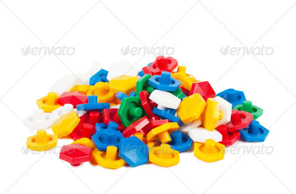 Plastic blocks - Stock Photo - Images