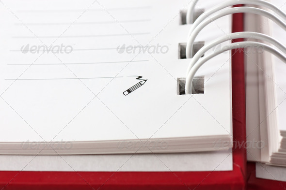 Spiral notebook - Stock Photo - Images