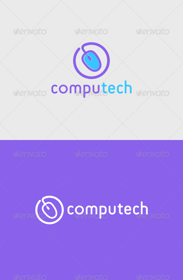 Computech Logo - Objects Logo Templates