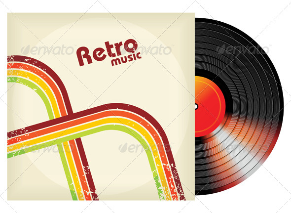 Retro-Styled Vinyl - Man-made Objects Objects