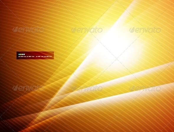 Abstract Glowing Straight Lights - Backgrounds Decorative