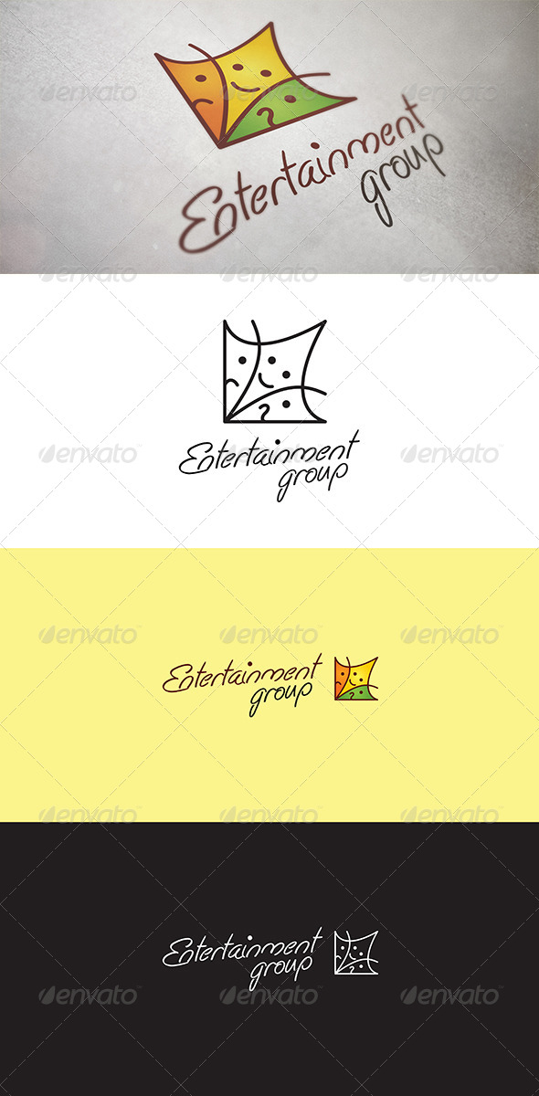Entertainment Group - Abstract Logo Templates