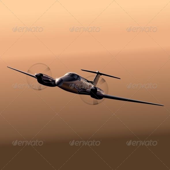Civil Utility Aircraft - Travel Conceptual